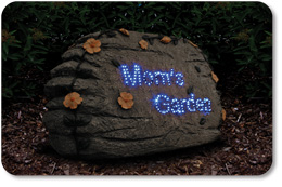 Moms Garden Solar Optic Stone