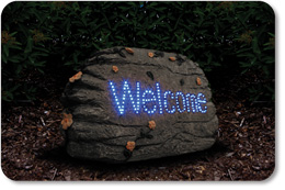 Welcome Solar Optic Stone